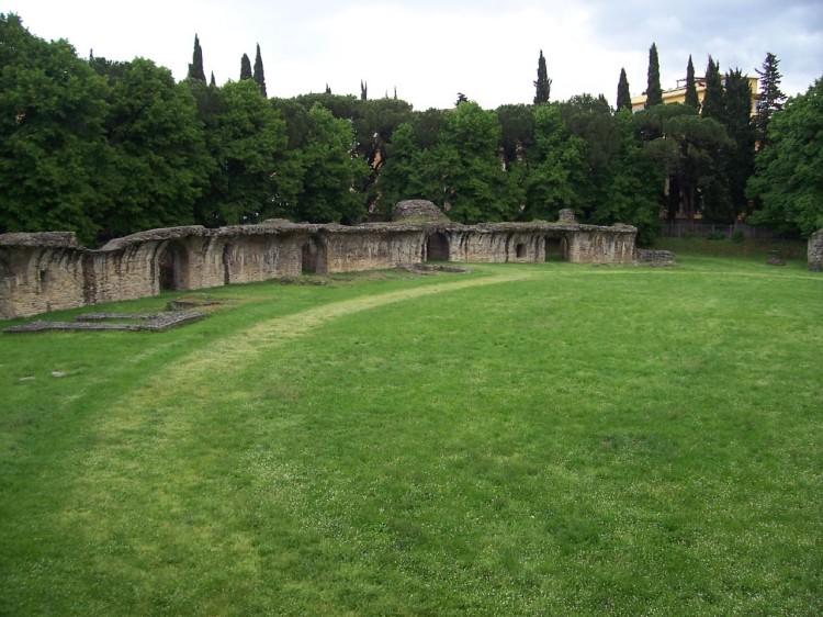 Arezzo, anfiteatro romano