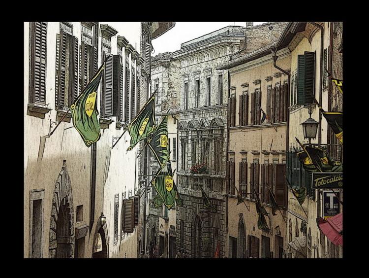 Montepulciano, dettagli del Bravio