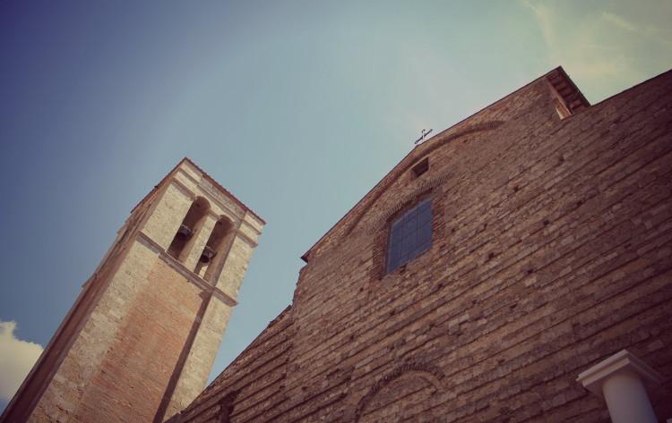 Montepulciano, particolati del Duomo