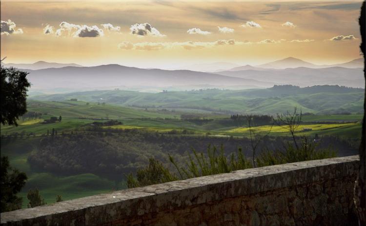 Monticchiello, Panorama