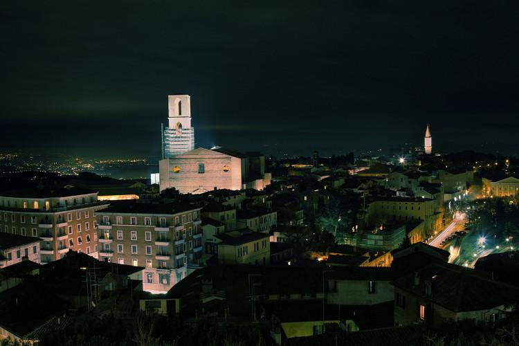 Perugia, notte