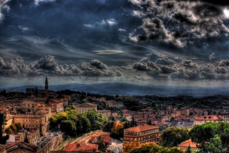 Perugia, panorama