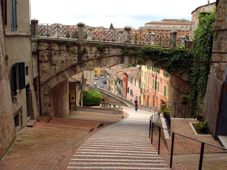 Perugia, via della'cquedotto