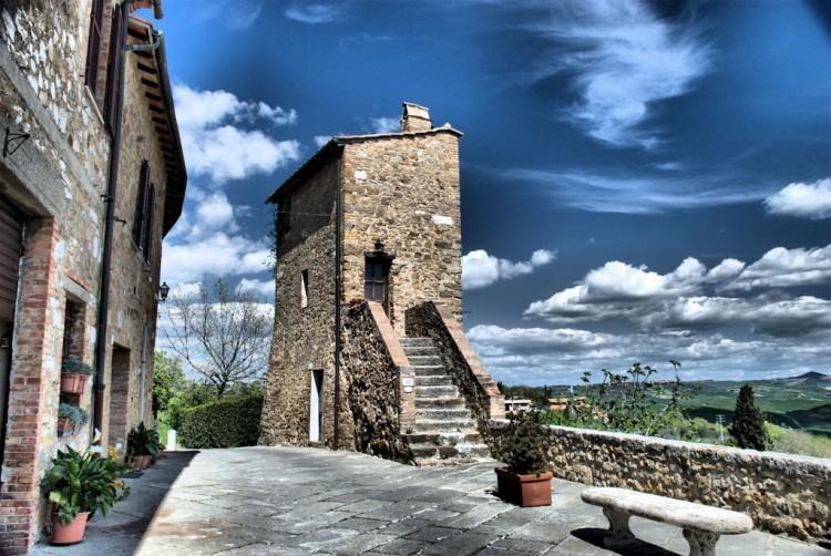 San Quirico, particolare