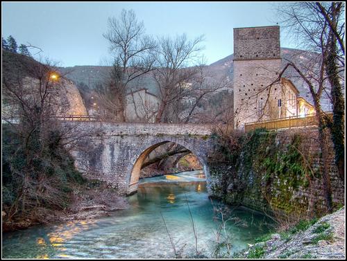 San Quirico, ponte