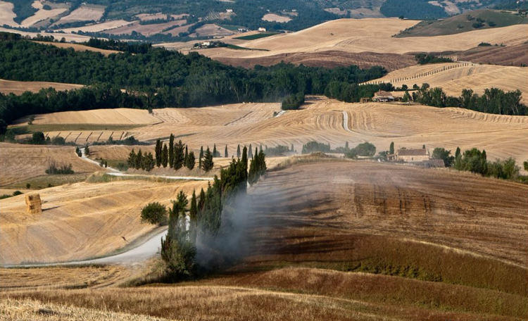 Val d'Orcia, strade bianche